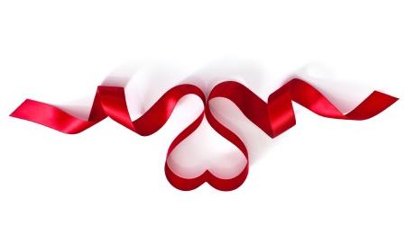 share this - Valentine Ribbon