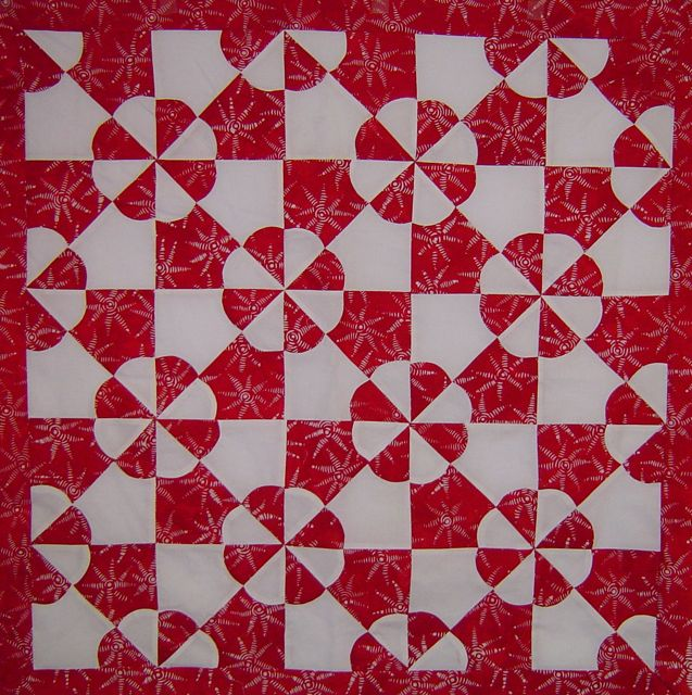 Red and White Quilts (3/3)